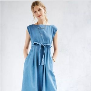 Urban Outfitters Anita Chambray Dress Size Small